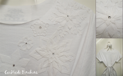 Snowflake Applique Shirt