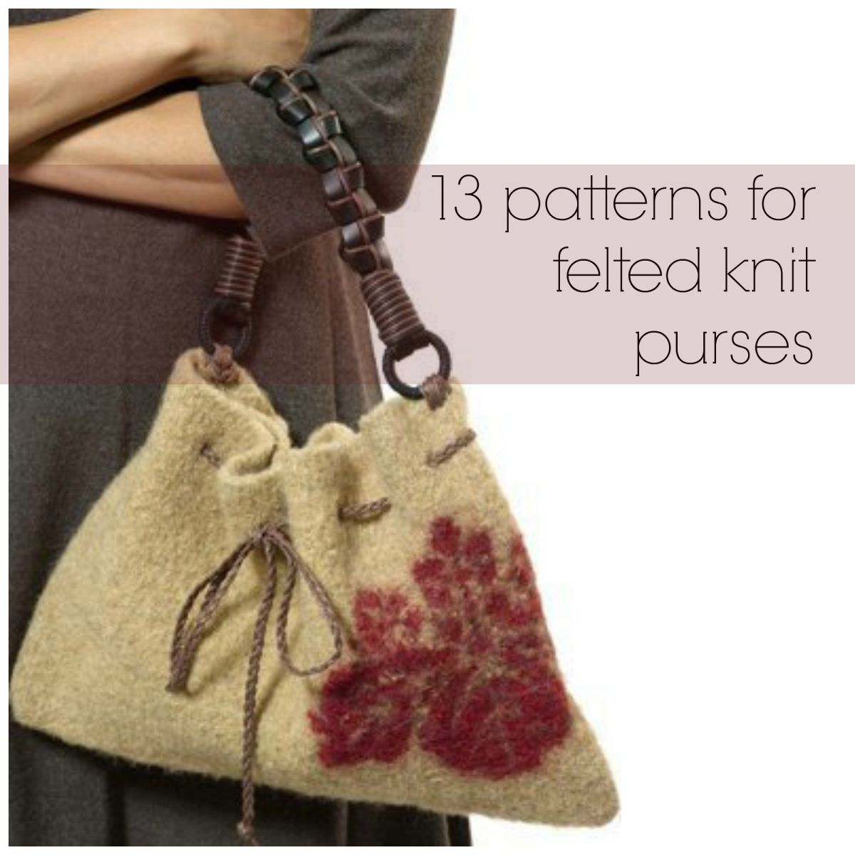 13 patterns for felted knit purses allfreeknitting 13 patterns for felted knit purses bankloansurffo Gallery