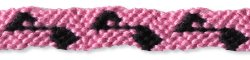 Musical Note Friendship Bracelet Pattern