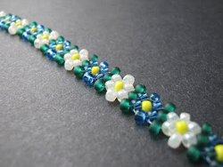 Potawatomi Daisy Chain | AllFreeJewelryMaking.com