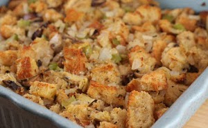 Artichoke Parmesan Sourdough Stuffing