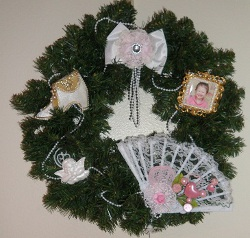 Victorian Christmas Wreath