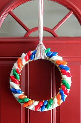 Twinkle Wreath How to Make Wreaths