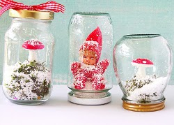 Winter Fairy Land Snow Domes  Christmas Gifts to Make