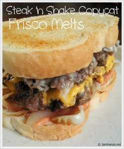 Steak 'N Shake Frisco Melt Copycat