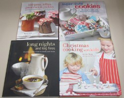 Four-Cookbook Prize Package Giveaway Review