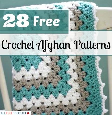28 Free Crochet Afghan Patterns | AllFreeCrochet.com : free crochet quilt patterns - Adamdwight.com