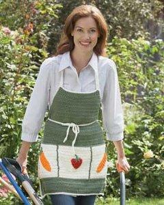 Crochet Gardening Apron