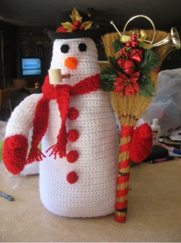 Crochet Frosty the Snowman