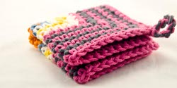 Particularly Pink Dishcloth