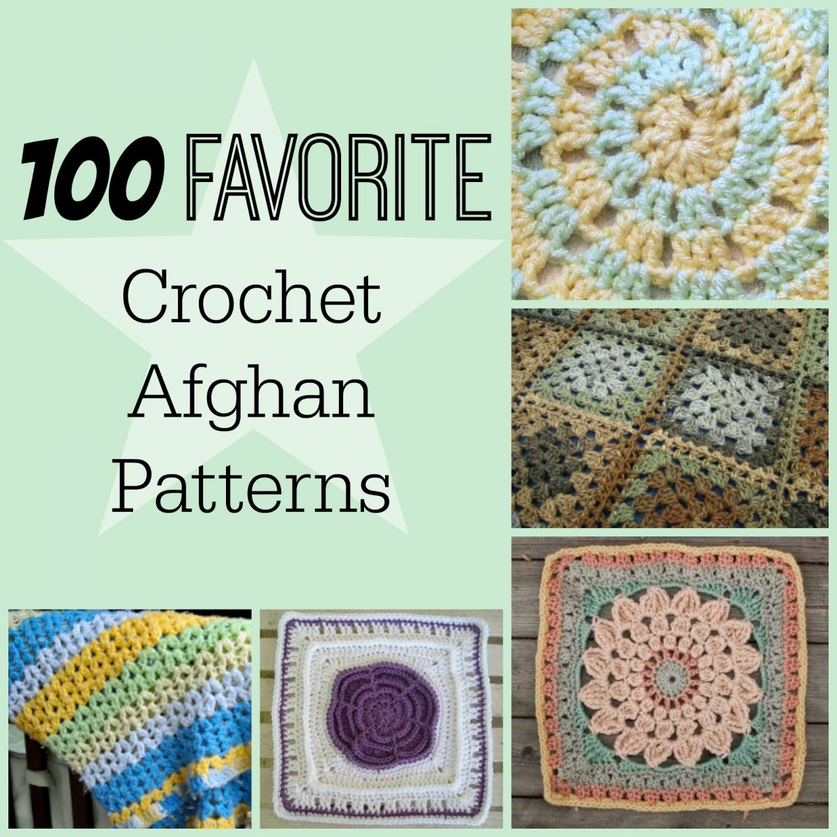 100 favorite crochet afghan patterns 100 favorite crochet afghan patterns bankloansurffo Images