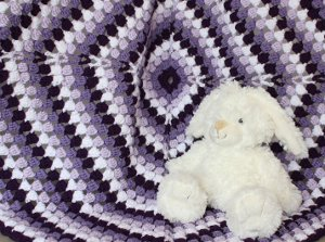 The Perfect Puff Stitch Baby Blanket