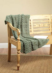Crochet One Skein Throw