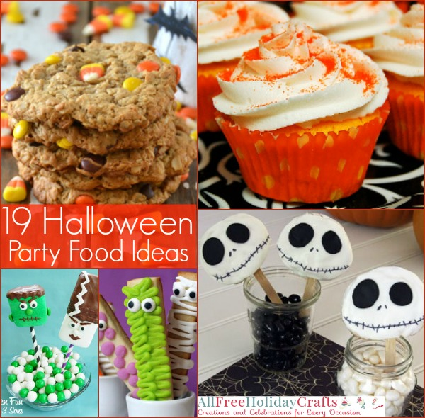 19 Halloween Party Food Ideas