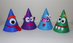 New Years Eve Party Hats for Kids