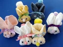 No Sew Baby Bunnies