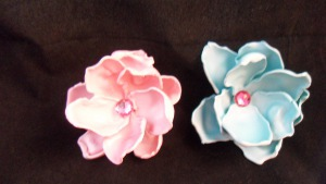 Spoon Petals Flower Brooch
