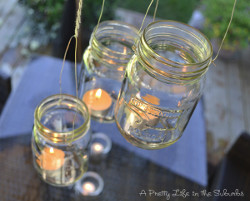 Much Loved Mason Jar Lanterns