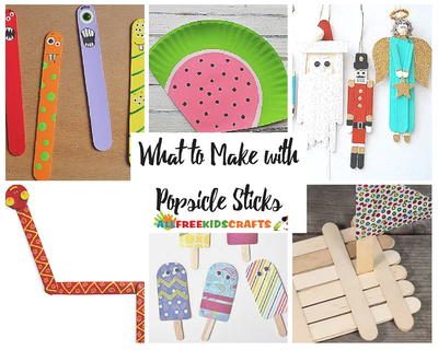 What to Make with Popsicle Sticks