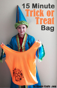 Easy Breezy Trick-or-Treat Bags