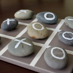 Rockin' Tic Tac Toe Homemade Game