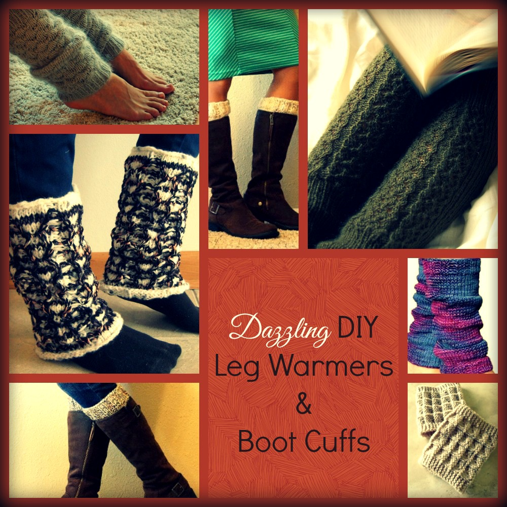 16 dazzling diy leg warmers and boot cuffs allfreeknitting dazzling diy leg warmers boot cuffs bankloansurffo Images