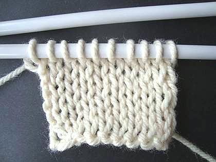 types of knitting stitches pdf
