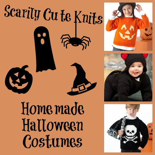 Scarily Cute Knits: 20 Homemade Halloween Costumes