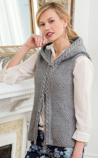 Country Nights Cabled Vest