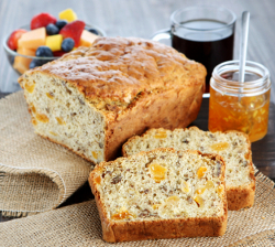 Slow Cooker Apricot Nut Bread
