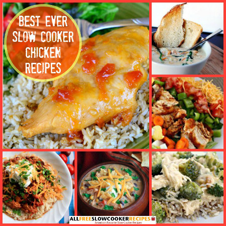 Best Ever Slow Cooker Chicken Recipes