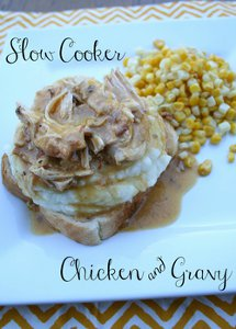 Four Ingredient Chicken and Gravy
