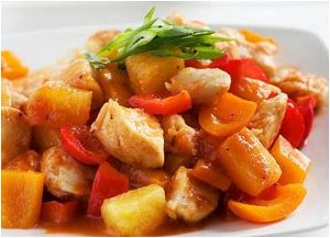 Slow Cooker Sweet and Sour Chicken for Four