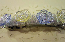 Bridal Buttons Barrette