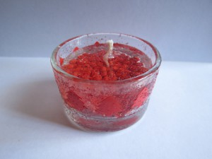 Christmas Gel Candles