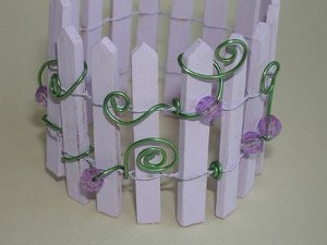 Picket Fence Holder