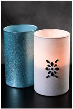 Sparkling Jeweled Votives