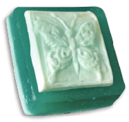 Butterfly Hand Molded Soap