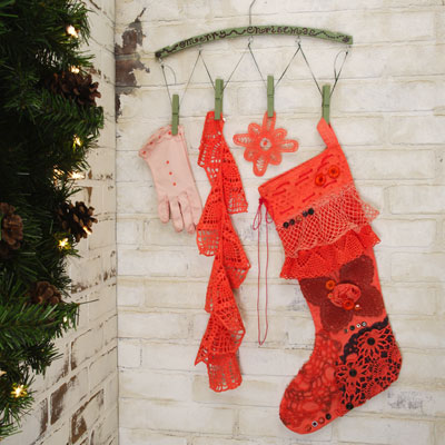 Bohemian Christmas Stocking