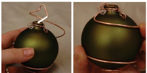 Elegant Emerald Ornament