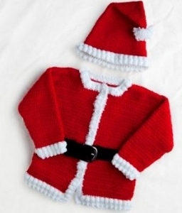Jolly Crocheted Santa Outfit