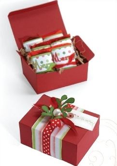 Easy Christmas Crafts Gift Boxes
