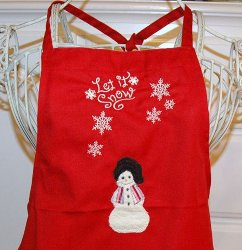 Holiday Apron Tutorial