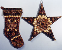 Natural Christmas Star Decoration