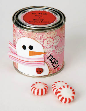 peppermint treat jar