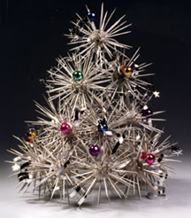 Starburst Tree Silver Centerpiece