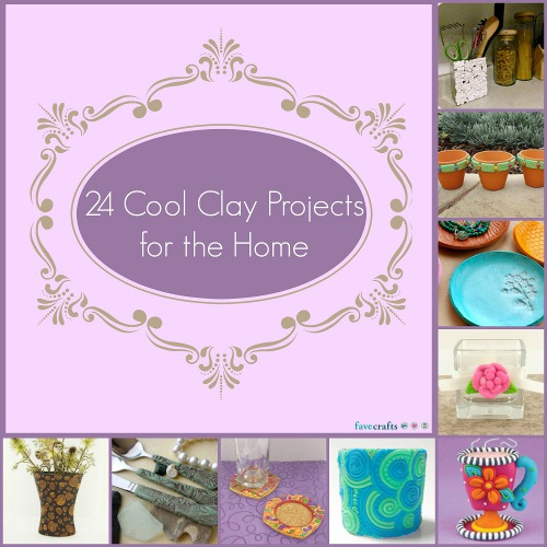 Cool Clay Projects for the Home
