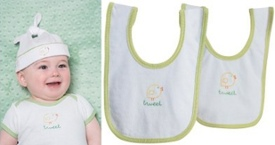 Martha Stewart Baby Onesies Caps and Bib Embroidery Sets Giveaway
