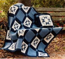 Country Star Afghan