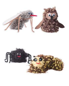 Fuzzy Critter Crafts for Kids